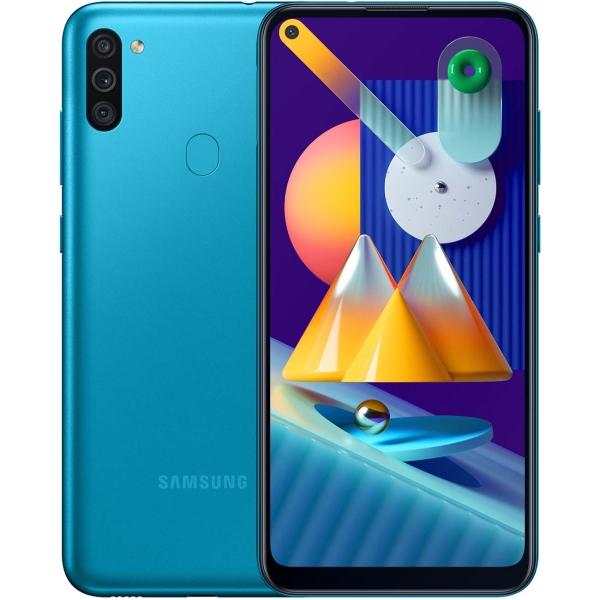 Смартфон Samsung Galaxy M11 32GB Turquoise (SM-M115F) фото