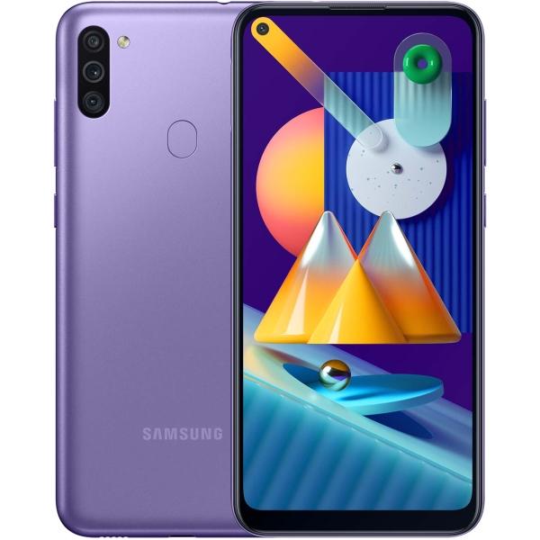 Смартфон Samsung Galaxy M11 32GB Violet (SM-M115F)