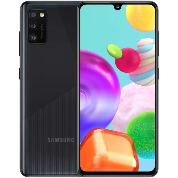 Смартфон Samsung Galaxy A41 64GB Black (SM-A415F/DSM) фото