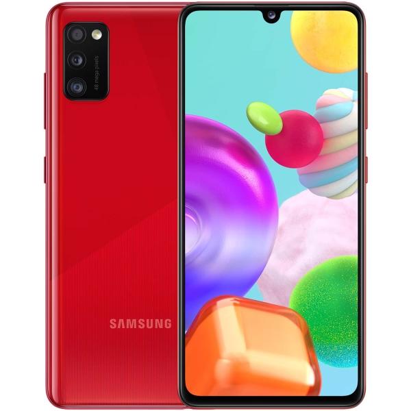 Смартфон Samsung — Galaxy A41 64GB Red (SM-A415F/DSM)