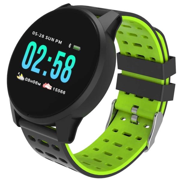 Смарт-часы Qumann QSW 01 Black/Green (Q-15012)