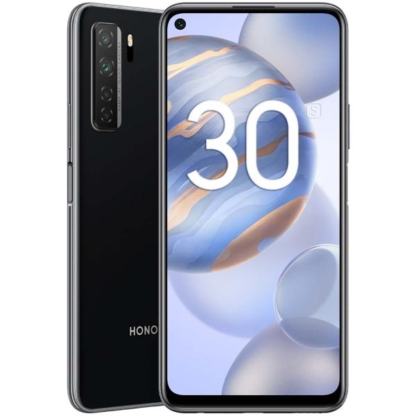 Смартфон Honor 30S 128GB Midnight Black (CDY-NX9A) фото