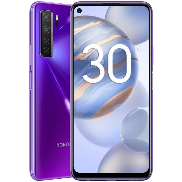 Смартфон Honor 30S 128GB Neon Purple (CDY-NX9A) фото