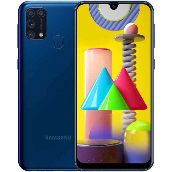 Смартфон Samsung Galaxy M31 128GB Blue (SM-M315F/DSN)