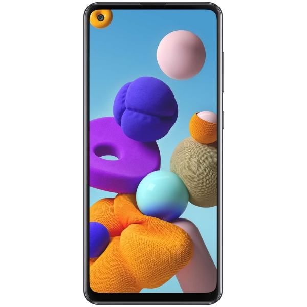 Смартфон Samsung — Galaxy A21s 32GB Black (SM-A217F/DSN)