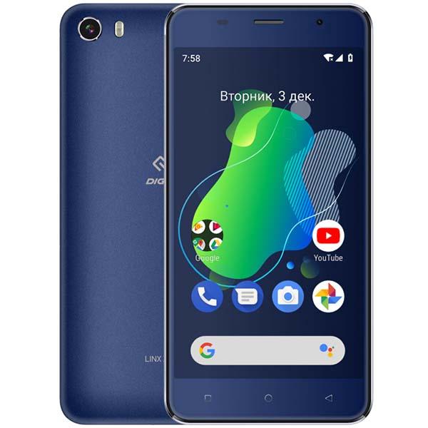 Смартфон Digma — Linx X1 3G Dark Blue (LS4050MG)