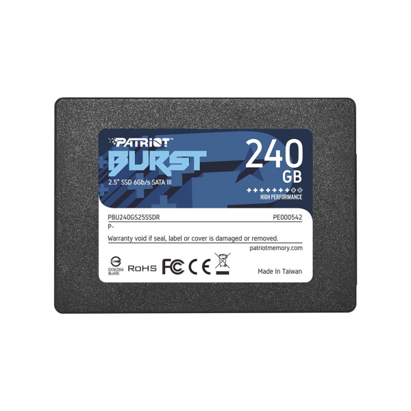 Внутренний SSD накопитель Patriot