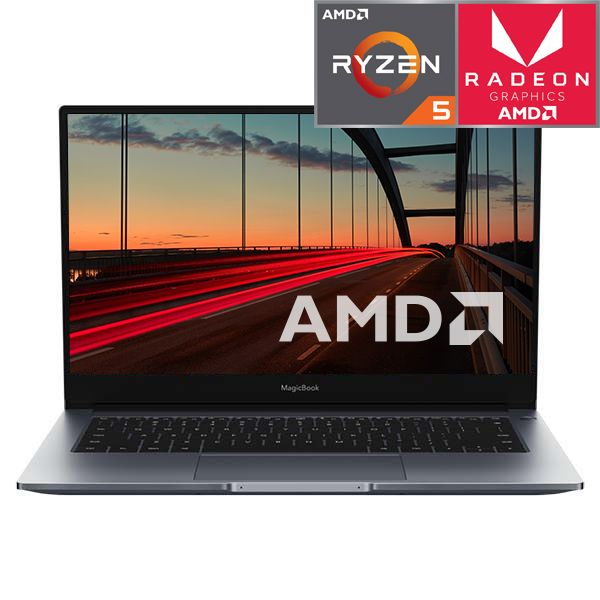 Ноутбук Honor MagicBook 14 256GB Space Gray (Nbl-WAQ9HNR) фото