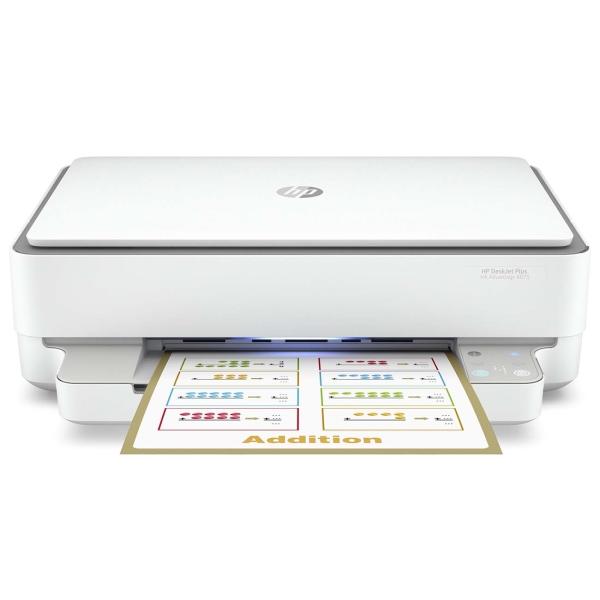 Купить Струйное МФУ HP DeskJet Plus Ink Advantage 6075 в каталоге интернет магазина М.Видео по выгодной цене с доставкой, отзывы, фотографии - Москва