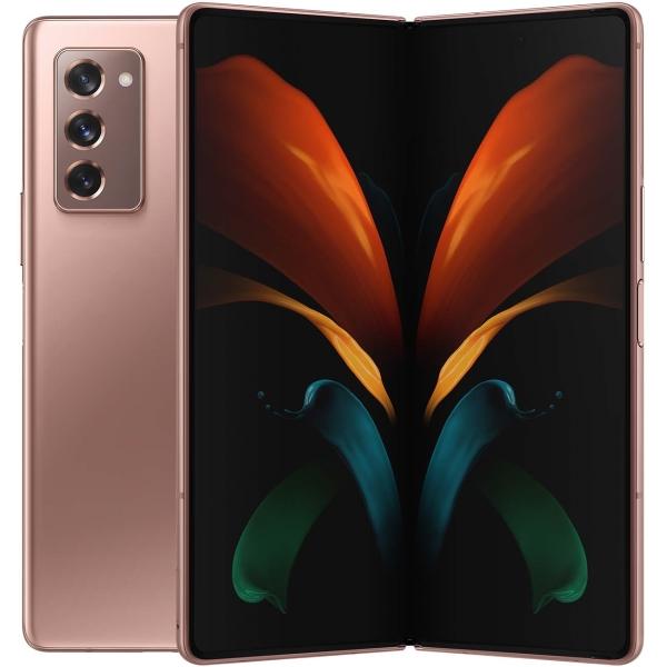 Смартфон Samsung Galaxy Z Fold 2 256GB Bronze (SM-F916B)