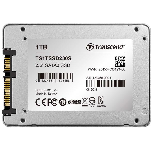 Купить Жесткий диск SSD Transcend 1TB 230S (TS1TSSD230S) в каталоге интернет магазина М.Видео по выгодной цене с доставкой, отзывы, фотографии - Москва