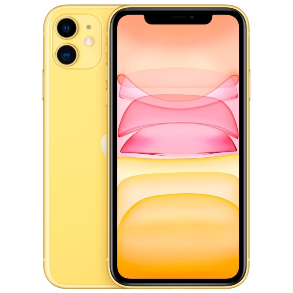Смартфон Apple iPhone 11 64GB Yellow (MHDE3RU/A)