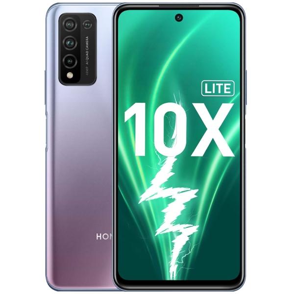 Купить Смартфон Honor 10X Lite 4+128GB Icelandic Frost (DNN-LX9) в каталоге интернет магазина М.Видео по выгодной цене с доставкой, отзывы, фотографии - Москва