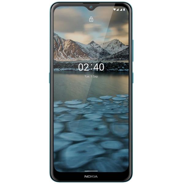 Смартфон Nokia 2.4 3+64GB Blue (TA-1270)