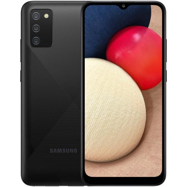 Смартфон Samsung Galaxy A02s 32GB Black (SM-A025F)