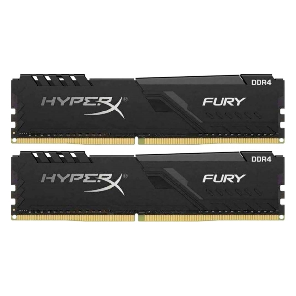 Оперативная память HyperX FURY 8GB 2400Mhz CL15 (HX424C15FB3K2/8) Hyperx