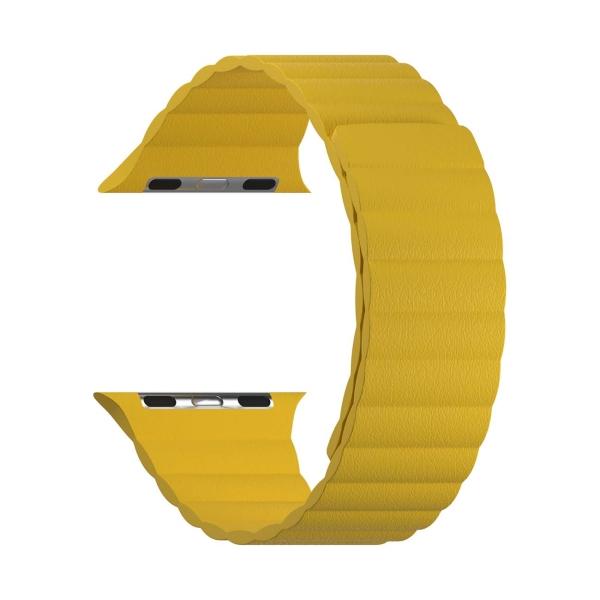 Ремешок LYAMBDA Apple Watch 38/40mm POLLUX DSP-24-40-YL Yellow