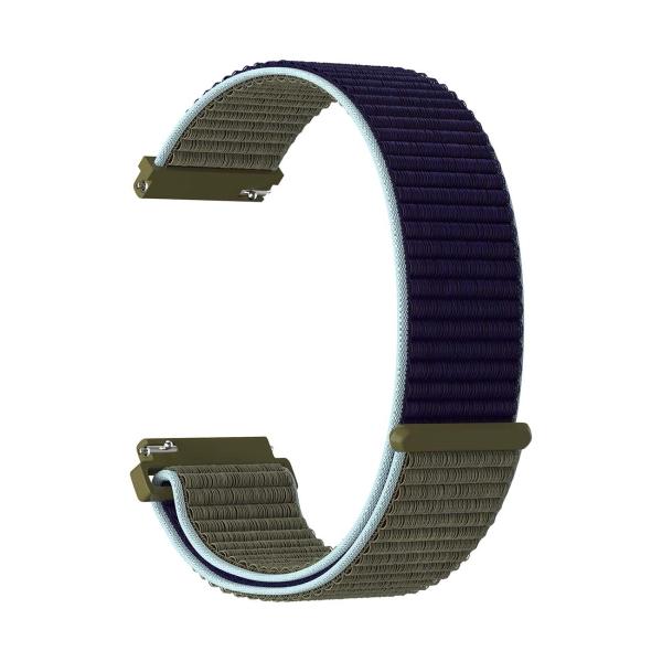 Сменный ремешок LYAMBDA 20mm VEGA DS-GN-03-20-46 Khaki-blue