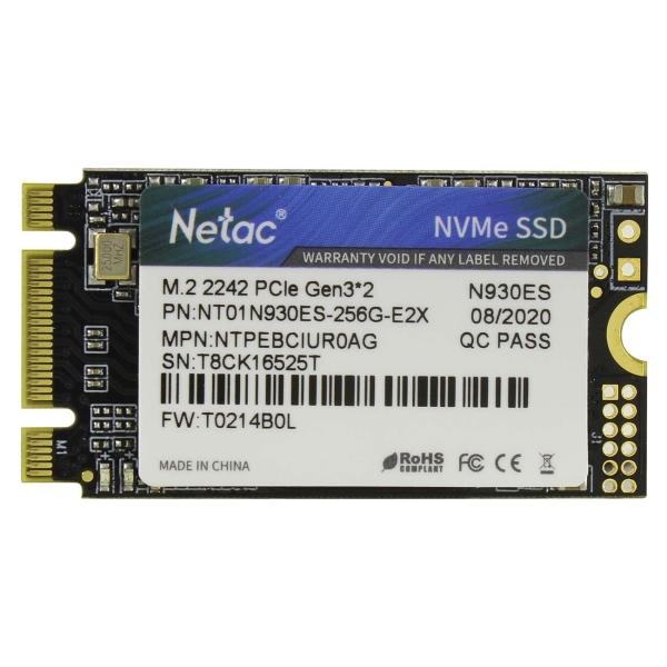 Внутренний SSD накопитель Netac 256GB N930ES (NT01N930ES-256G-E2X)