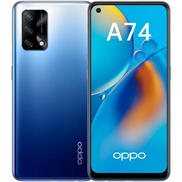 Смартфон OPPO A74 Blue (CPH2219)