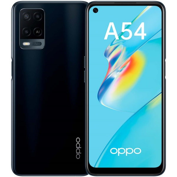Смартфон OPPO A54 4+64GB Black (CPH2239)