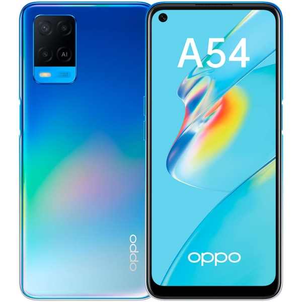 Смартфон OPPO A54 4+64GB Blue (CPH2239)