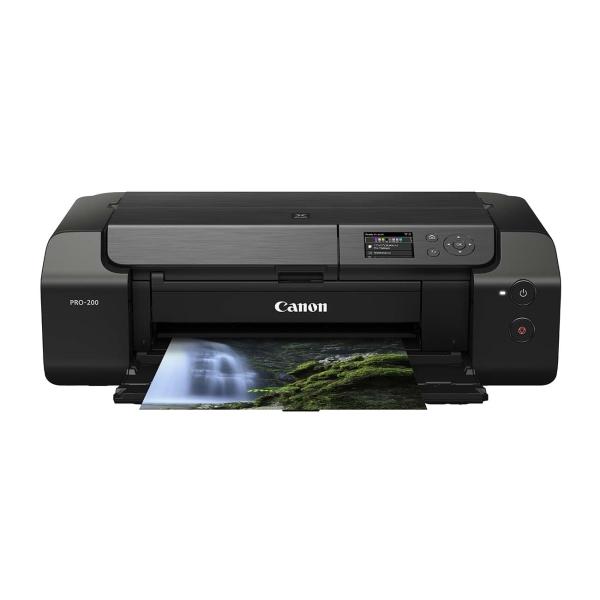 Струйный принтер Canon PIXMA PRO-200 цвет 8-ми цветная