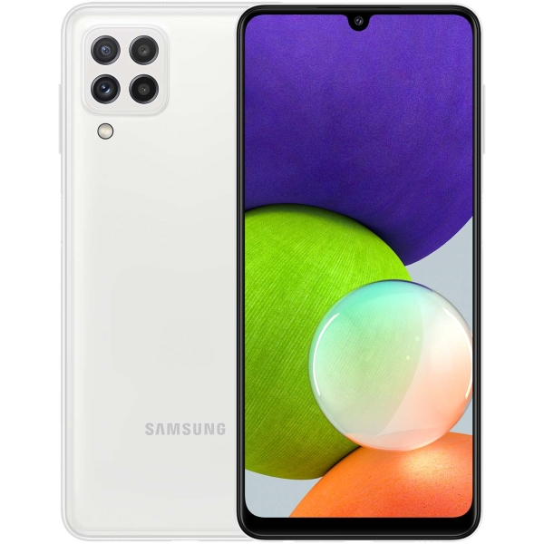 Купить Смартфон Samsung Galaxy A22 64GB White (SM-A225F) в каталоге интернет магазина М.Видео по выгодной цене с доставкой, отзывы, фотографии - Москва