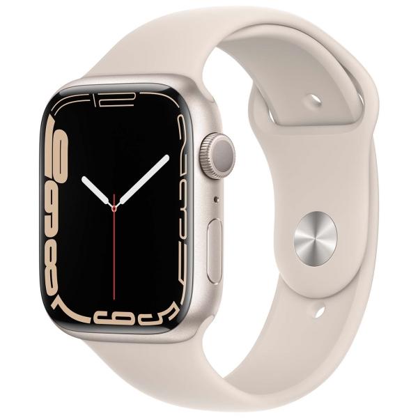 Apple Watch Series 7 GPS 45mm Starlight Alum. Sport