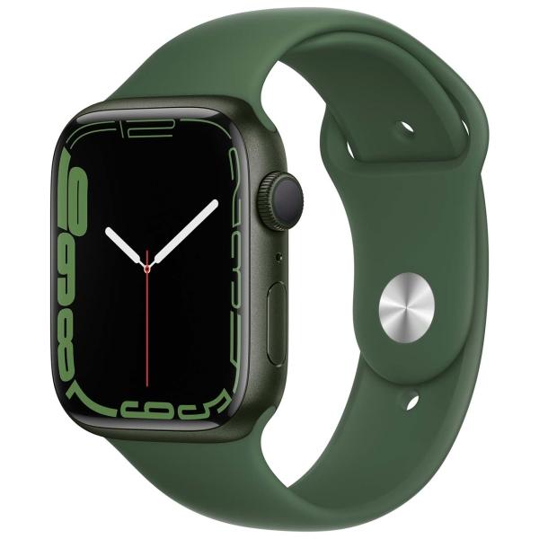 Apple Watch Series 7 GPS 45mm Green Al/Clover Sport