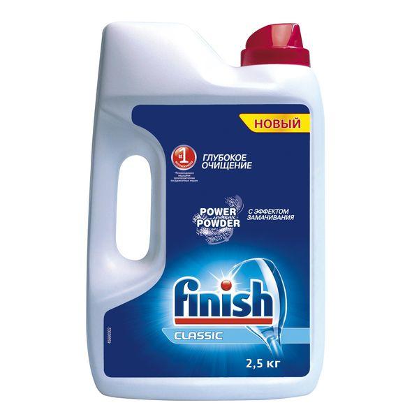 Моющее средство для посудомоечной машины Finish д/DW 2.5кг моющее средство для посудомоечной машины finish all in 1 max power pure 25табл
