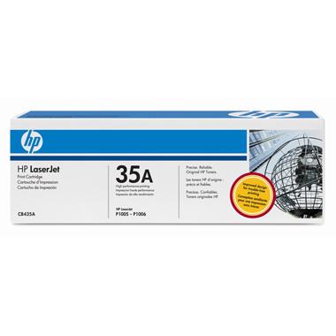 Картридж для лазерного принтера HP 35A (CB435A) картридж для лазерного принтера hp 33a cf233a