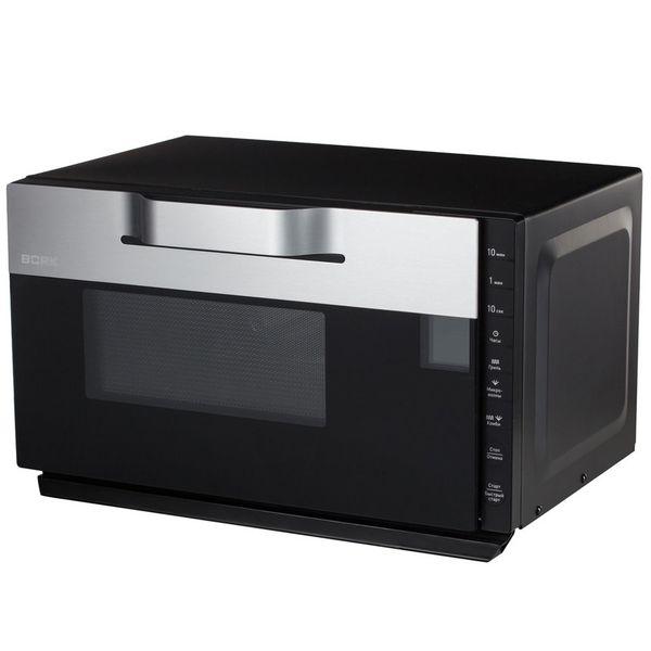 Микроволновая печь с грилем Bork W502 черного цвета