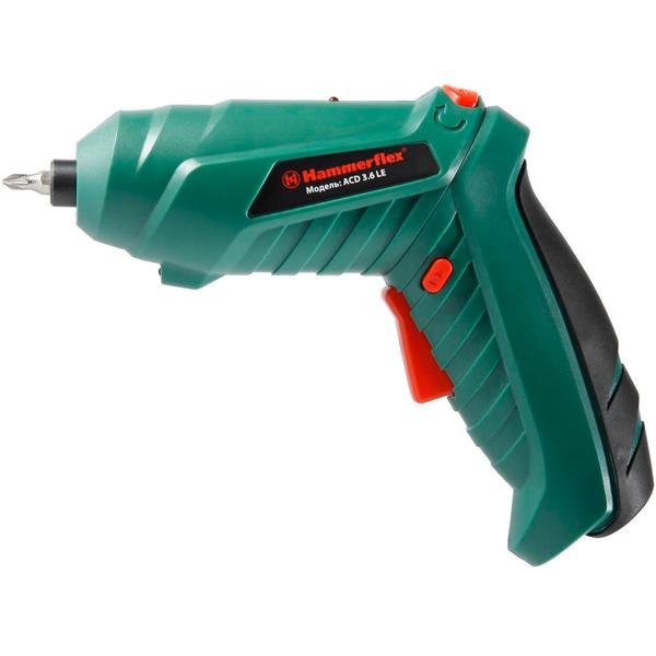 Отвертка аккумуляторная Hammer ACD3.6LE