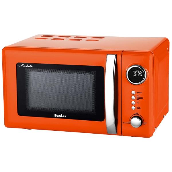 Купить Микроволновая печь соло Tesler ME-2055 Orange в каталоге интернет магазина М.Видео по выгодной цене с доставкой, отзывы, фотографии - Мурманск