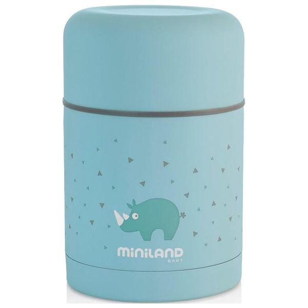 Посуда для детей Miniland Silky Thermos 600 мл голубой 89221