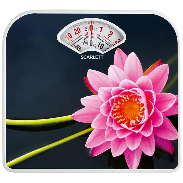 Весы напольные Scarlett SC-BS33M043 SPA лотус