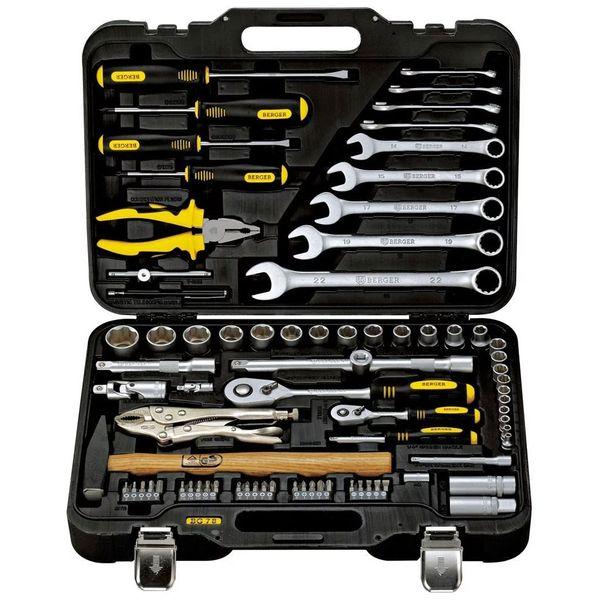 Набор ручного инструмента Berger BG078-1214 универс. 78 предметов