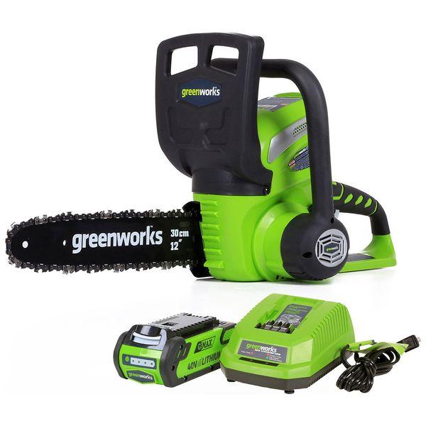 Электропила цепная Greenworks G40CS30 (20117UA)