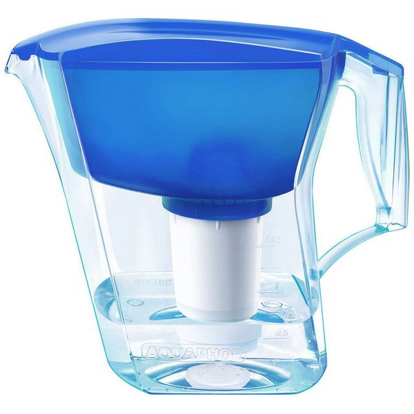Фильтр для очистки воды Аквафор Арт синий