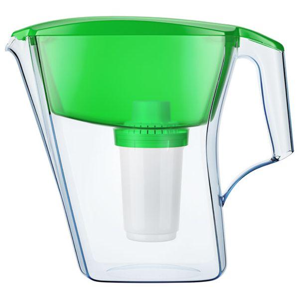 Фильтр для очистки воды Аквафор Арт с В100-5 зеленый