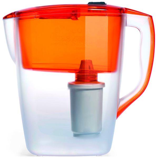Фильтр для очистки воды Гейзер Геркулес оранжевый 4 л (62043)