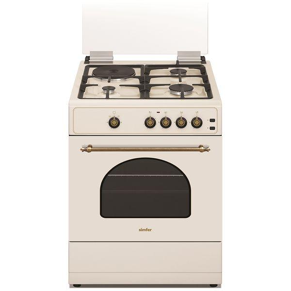 Комбинированная плита (50-55 см) Simfer F 66 GO 32017