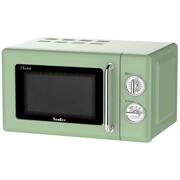 Купить Микроволновая печь соло Tesler MM-2045 Green в каталоге интернет магазина М.Видео по выгодной цене с доставкой, отзывы, фотографии - Санкт-Петербург