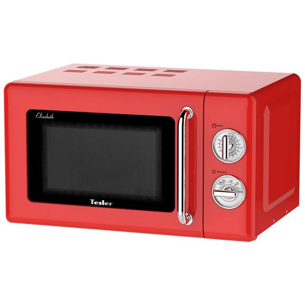 Купить Микроволновая печь соло Tesler MM-2045 Red в каталоге интернет магазина М.Видео по выгодной цене с доставкой, отзывы, фотографии - Москва