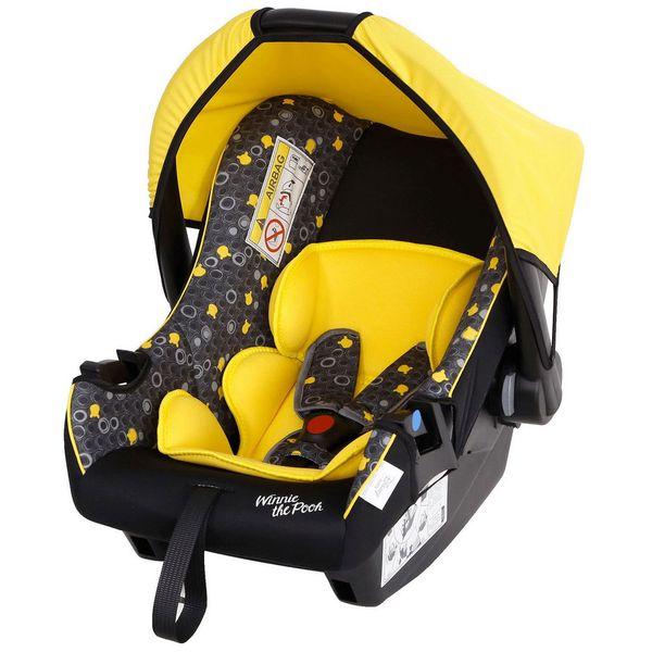 Детское автокресло Siger Disney Baby ЭЛ Винни Пух Yellow (KRES2657)