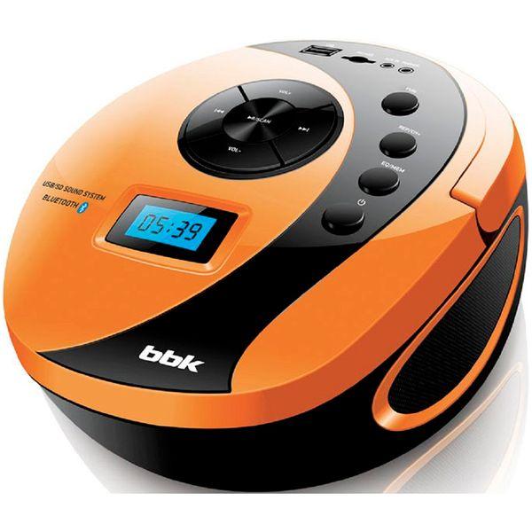 Магнитола BBK BS 10 BT Black/Orange