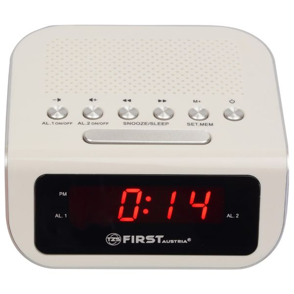 Радио-часы FIRST FA-2406-1 White