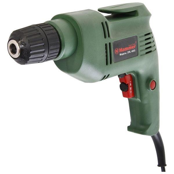 Дрель электрическая Hammer Flex DRL400S