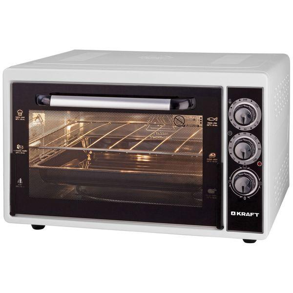 Купить Мини-печь Kraft KF-MO3801 White в каталоге интернет магазина М.Видео по выгодной цене с доставкой, отзывы, фотографии - Ульяновск